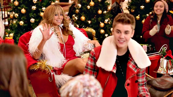 SonicAmp.com|Videos|Justin Bieber f/ Mariah Carey::All I Want For ...